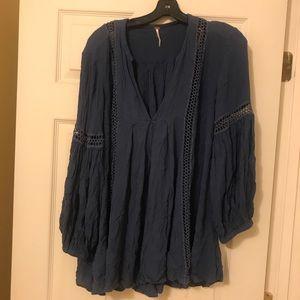 Free people blue tunic